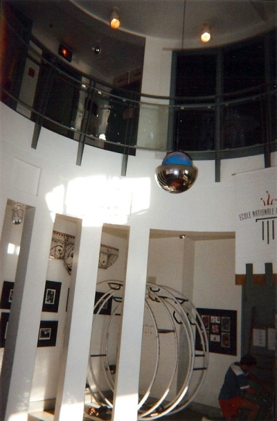 Interiro of the Ecole Nationale de Cirque in 2001