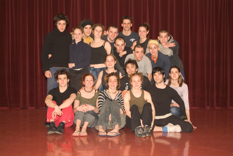 Graduating class of the National Circus School of Montreal